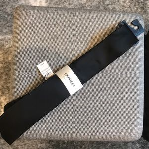 Express Black Tie Brand New With Tags